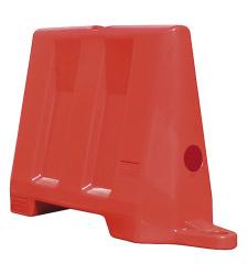 Silniční bariéra 1m - červená