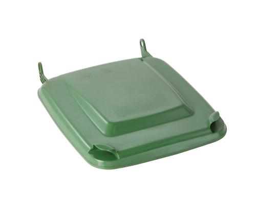 Víko k plastové popelnici 120 lt. - plastové nádobě - zelené